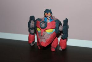 Lagann with Simon by MikeShy