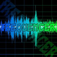 fREQUENCER Wallpaper by Hardii