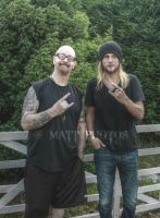 The Metal God Rob Halford and Richie Faulkner HDR by Metalfan1