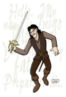 Inigo Montoya colored by SethWolfshorndl