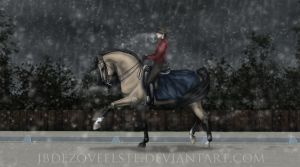 Dashing Through the Sleet by jbdezoveelste
