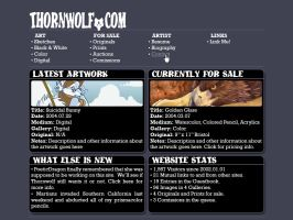 Thornwolf.Com by PoetikDragon