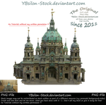 Berliner Dom front view by YBsilon-Stock