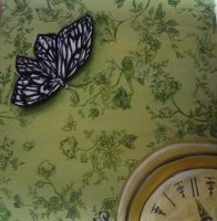 Butterfly Toile the Jouy by Demiie