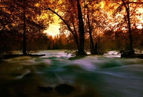 fall river by KariLiimatainen