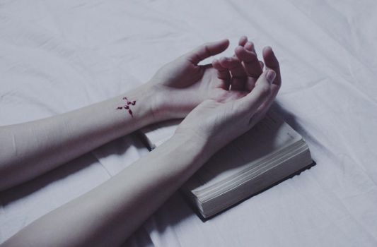 unfinished story I by laura-makabresku