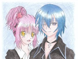 Amu and Ikuto Forever by xKoyukix