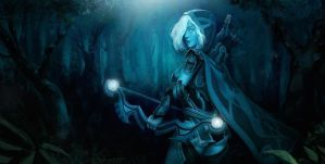 Fan Art : Drow ranger Dota2 by Freppechoco