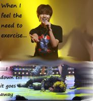 Onew : exercise by Rio-Osake