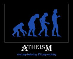 Atheism by ewotion