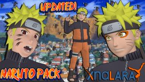 Naruto UNS3 - Naruto Uzumaki Model Pack For XPS by MVegeta