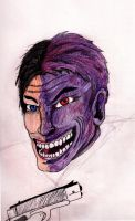 Two Face by Valiant-Werewolf
