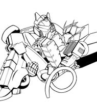 JazzxWereProwl - Ink by taisryo