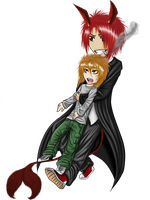 Chibi Set and Blaise by HerrFenix