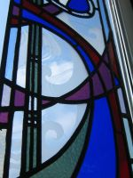 Swirls. Stained Glass. by rdwGlass