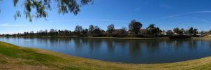 Menifee Lakes Panorama by LVI56