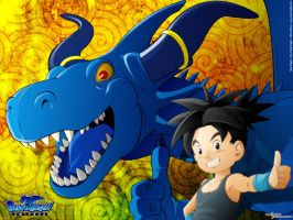 Blue Dragon by russ-artiste