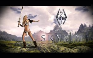 Real Skyrim...with Jenny Poussin by DonMichael71