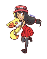 PKMN Trainer Steph by SaBasse