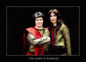 The ladies of Romulus by calimer00