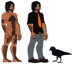 Poe nude ref. by CNena