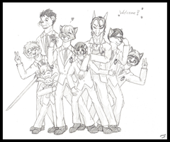 We are Ouran Host Club by Mutabi