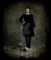 Wednesday Addams by dianar87