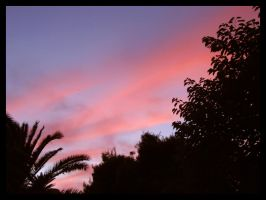 Sunset clouds by kiynley