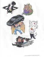 Ascending Character Magnets1 by MaximWolf