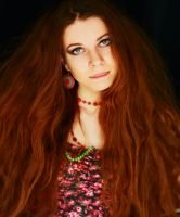 red hair) by IlonaShevchishina