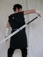 Sasuke Uchiha - fight-cos4 by SasukeTheRevenger