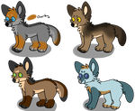 Another Batch of adopts : OPEN by Domeikuni