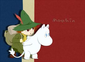 Adventure  -moomin- by Monoli-hakusi