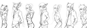 :Animal Head Phons :: by Stray-Ink92