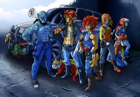 Thundercats Remake by FaustoX9285