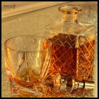 Whisky in the bar by daydream1986