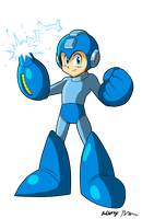 Blue Bomber by NextGrandcross