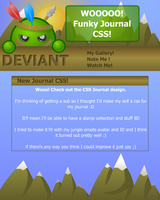 DEVlANT Journal Design + CSS by DEVlANT