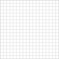 Cross Stitch Grid: 18x18 count fabric Square by ReekaRose