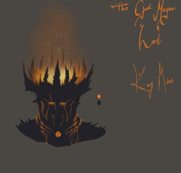 Concept WIP - King Midas by Jestermation