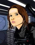 Colours on Darthgaul's Jyn Erso by hellbat