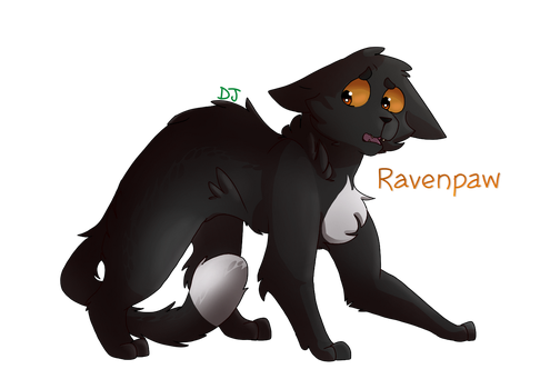 Ravenpaw I love u by ShinxShade