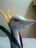 Serperior WIP 1 close up by riolushinx