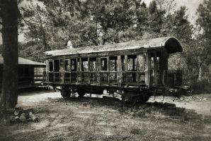 Old Passenger Car by jpgmn