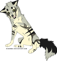 name your price wolf/dog adopt by MochaPupp