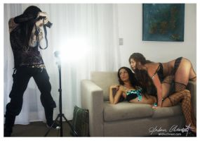 Andru Chrisst and the girls 2 by auxcentral