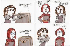 Dragon Age Origins: Lockpicking Skills by DivaXenia