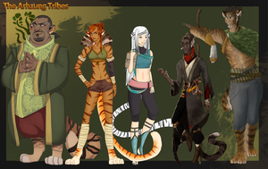 The Tiger Council by ArhzungMods