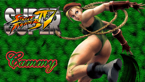SSFIV Cammy PSP Wallpaper by WhiteAngel50000
