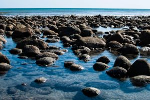 Beach Rocks by JoseAvilaPhotography